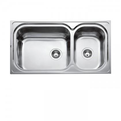 Teka Inoxteel-2B 2-Bowl Stainless Steel Sink