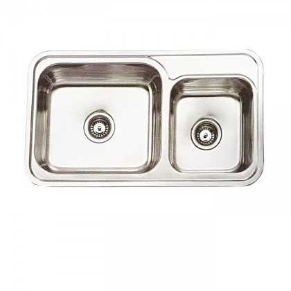 Teka Steelenium-2B-Plus 2-Bowl Stainless Steel Sink