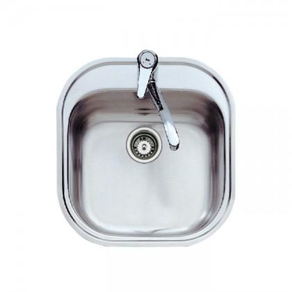 Teka Stylo 1B Single Bowl Stainless Steel Sink