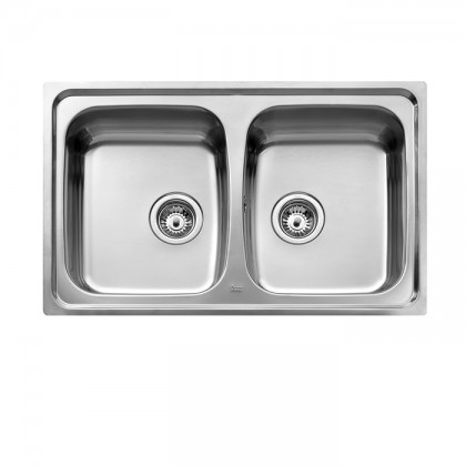 Teka Universo 2B 2-Bowl Stainless Steel Sink