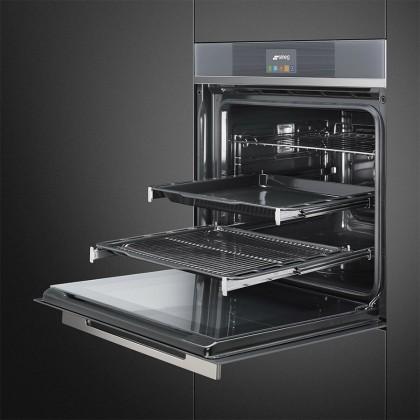 Smeg SFP6104TVS 70L Pyrolytic Oven