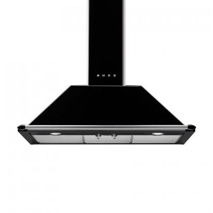 Smeg Victoria Combi Set - KT90BLE Range Hood + TR90BL9 Professional Range Cooker
