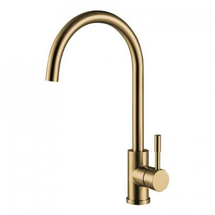 HUN HWT 9213-C Pillar Kitchen Cold Tap (Nano Gold)
