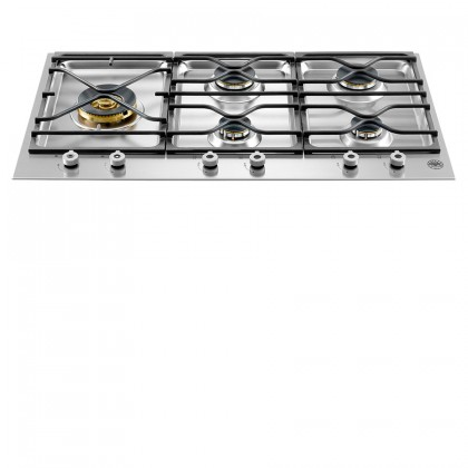 Bertazzoni PM365S0X Professional Series 90cm 5-Burner Gas Hob