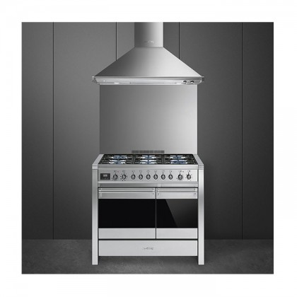 Smeg A2-81 Opera 100cm Professional Range Cooker with Dual Cavity Oven