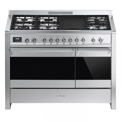 Smeg A3-81 Opera 120cm Professional Range Cooker with Dual Cavity Oven