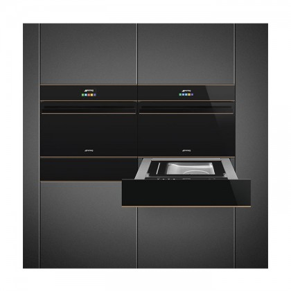Smeg SF4604VCNR1 Dolce Stil Novo Series 41L Compact Combination Steam Oven