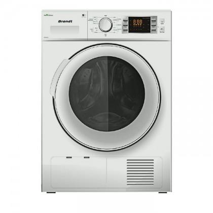 Brandt BWD89H2DA 8kg Condenser Dryer With Heat Pump
