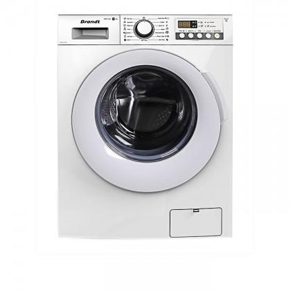 Brandt 8kg Washing Machine BWF814AG + Brandt 8kg Condenser Cloth Dryer BWD89H2DA