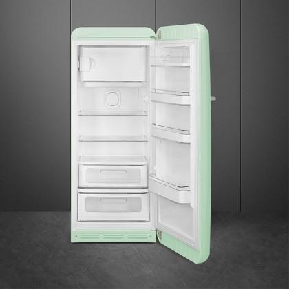 Smeg FAB28RPG3 PASTEL GREEN, 50's Retro Style Classic Refrigerator