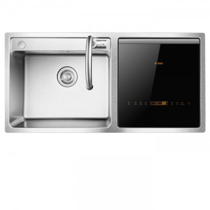 Fotile SD2F-P1X Counter Top In-SINK Dishwasher (3-IN-1 Functions Fully Integrated)
