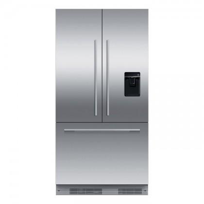 Fisher & Paykel RS90AU (SS) 3-Door Refrigerator (525L Slide-In Stainless Steel French Door Fridge-Freezer)