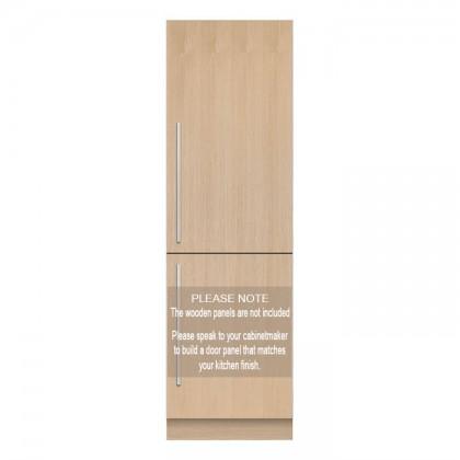 Fisher & Paykel RB60V18 60cm 2-Door Refrigerator (266L Full Integrated Bottom Mount Fridge-Freezer)