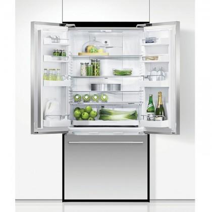 Fisher & Paykel RF522ADX 79cm 3-Door Refrigerator (519L Stainless Steel French Door Fridge-Freezer)