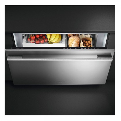Fisher & Paykel RB90S64MKIW (SS) 90cm Stainless Steel Door Panel CoolDrawer Multi-Temperature Refrigerator (123L Full Integrated Drawer Fridge-Freezer)