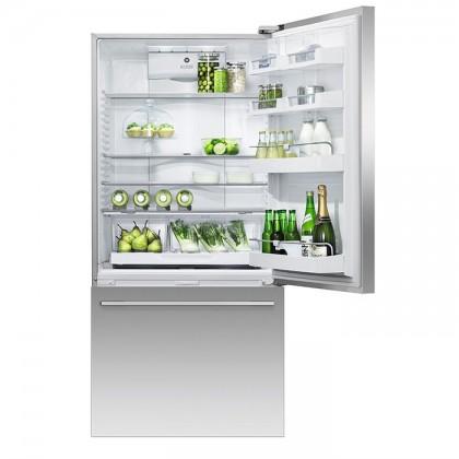Fisher & Paykel RF522WDRUX 79cm 2-Door Refrigerator (519L Stainless Steel Bottom Drawer Freezer)
