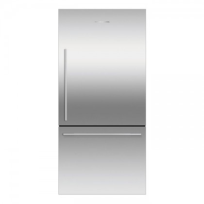 Fisher & Paykel RF522WDRX 79cm 2-Door Refrigerator (519L Stainless Steel Bottom Drawer Freezer)