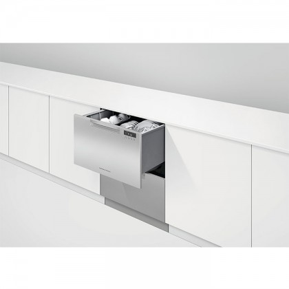 Fisher & Paykel DD60DCX 14-Place Settings Dishwasher, 60cm Double DishDrawer™ (Semi-Integrated)