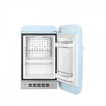 Smeg FAB5RPB3 PASTEL BLUE, 50's Retro Style Classic Refrigerator (Freestanding Mini Fridge)