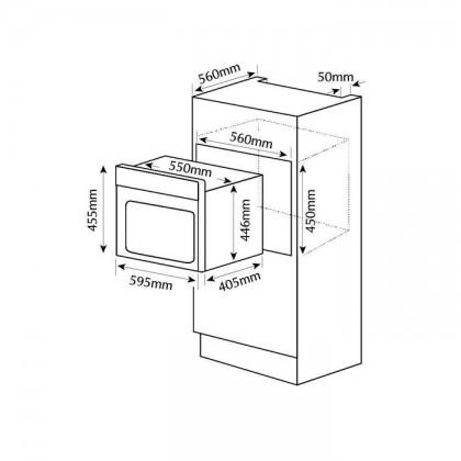 Fotile SCD42-C2T 42L Built-In Steam Oven