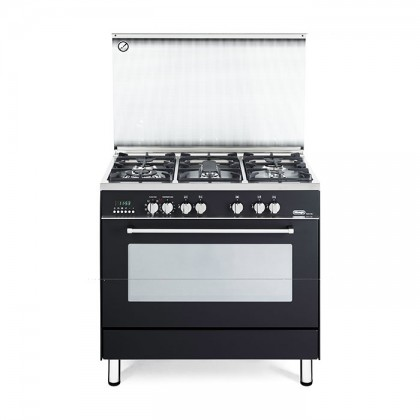 Delonghi PEMA 9651 90cm Professional Range Cooker with Glass Lid