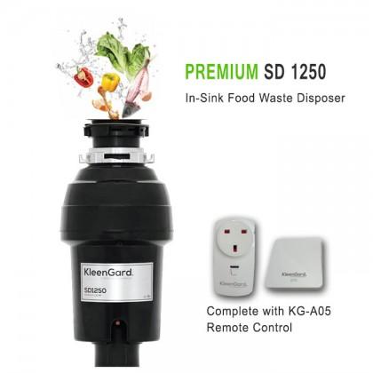 Kleengard SD1250 In-Sink Food Waste Disposer (Premium 1.25hp)
