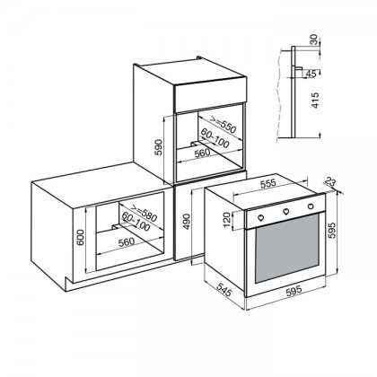Foster KS 8 65L Built-In Oven