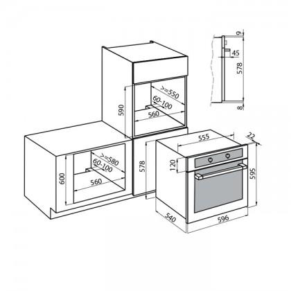 Foster KE 9 65L Built-In Oven
