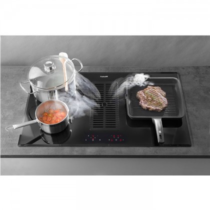Foster MILANO AIR 4-Cooking Zone Induction Hob With Integrated Cooker Hood