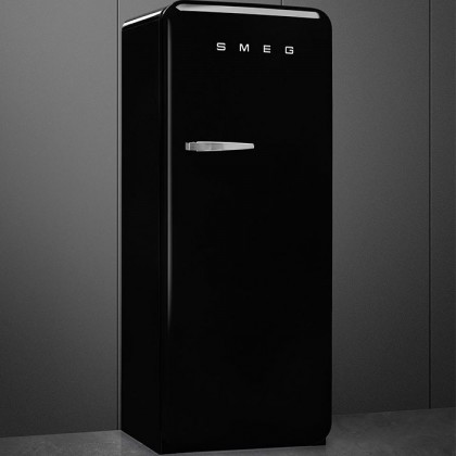 Smeg FAB28RBL5 BLACK, 50's Retro Style Classic Refrigerator