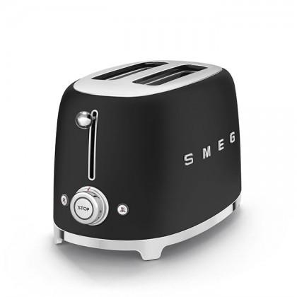 Smeg TSF01BLM (Matte Black) 50's Retro Style Toaster