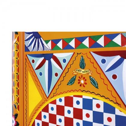[Pre-Order] Smeg FAB28RDGC3 Divina Cucina, 50's Retro Style Classic Refrigerator (Dolce & Gabbana)