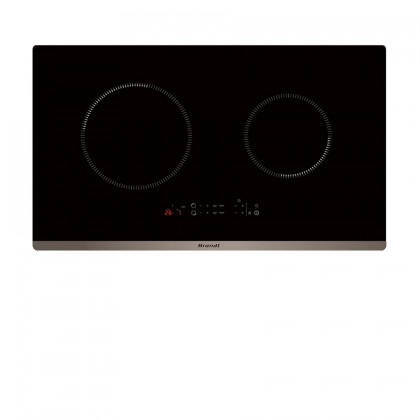 Brandt BHB6912BM Cooker Hood + BPI6230BL 2-Cooking Zone Induction Hob + BXE5532X 73L Built-In Oven
