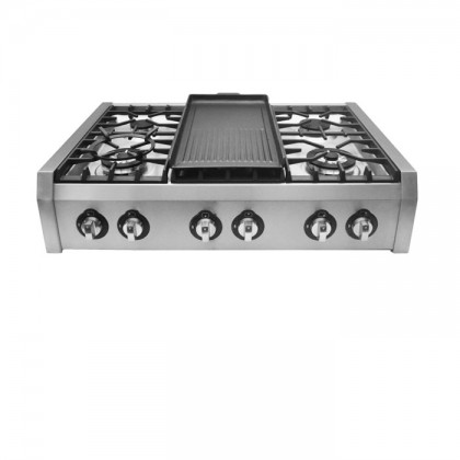 [Pre-Order] Lebensstil LKPH-8006SS 90cm Professional Series 6-Burner Gas Cooker