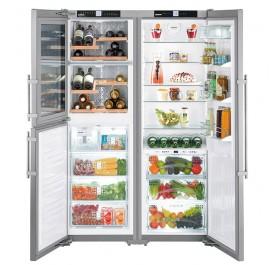 Liebherr SBSes7165 PremiumPlus 3-Door Refrigerator (602L Pigeon Pair Fridge-Freezer)