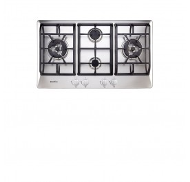 Pacifica PGN4 Vesta Quattro 4-Burner Stainless Steel Gas Hob