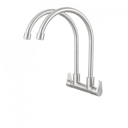 Haustern HT-EG-402-UC Double Spout Kitchen Cold Tap