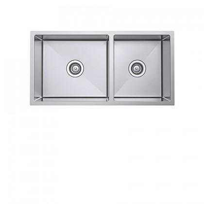 Haustern HT-UND-R10-121 Undermount 2-Bowl Stainless Steel Sink
