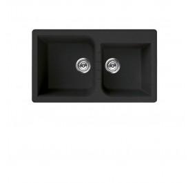 Elleci LGN44570 (VENICE Nero) Granite Sink - (Display Clearance)