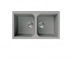 Elleci LGN45073 (VENICE Silver) Granite Sink - (Display Clearance)