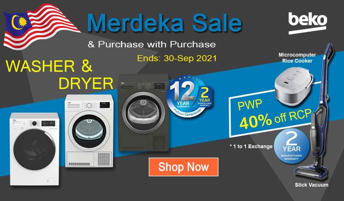 washing machine and dryer promotion