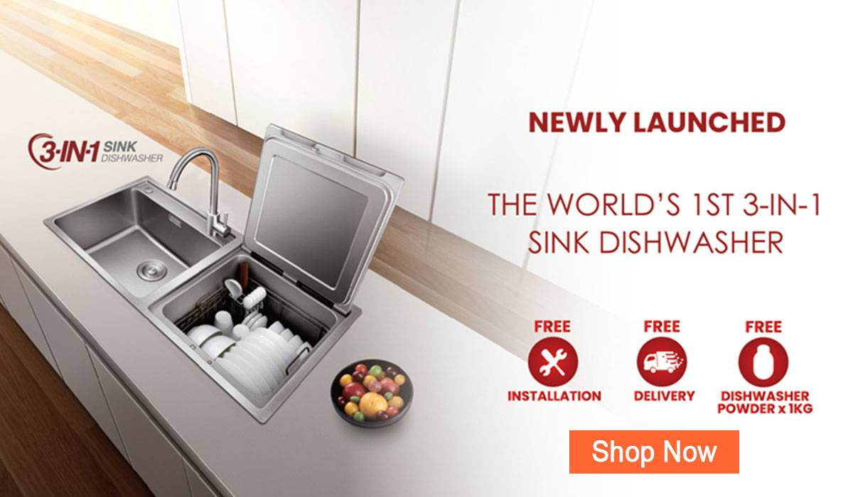 fotile in-sink dishwasher sd2f-p1x