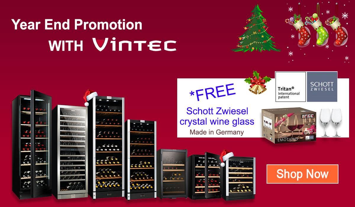 vintec wine cellar promotion