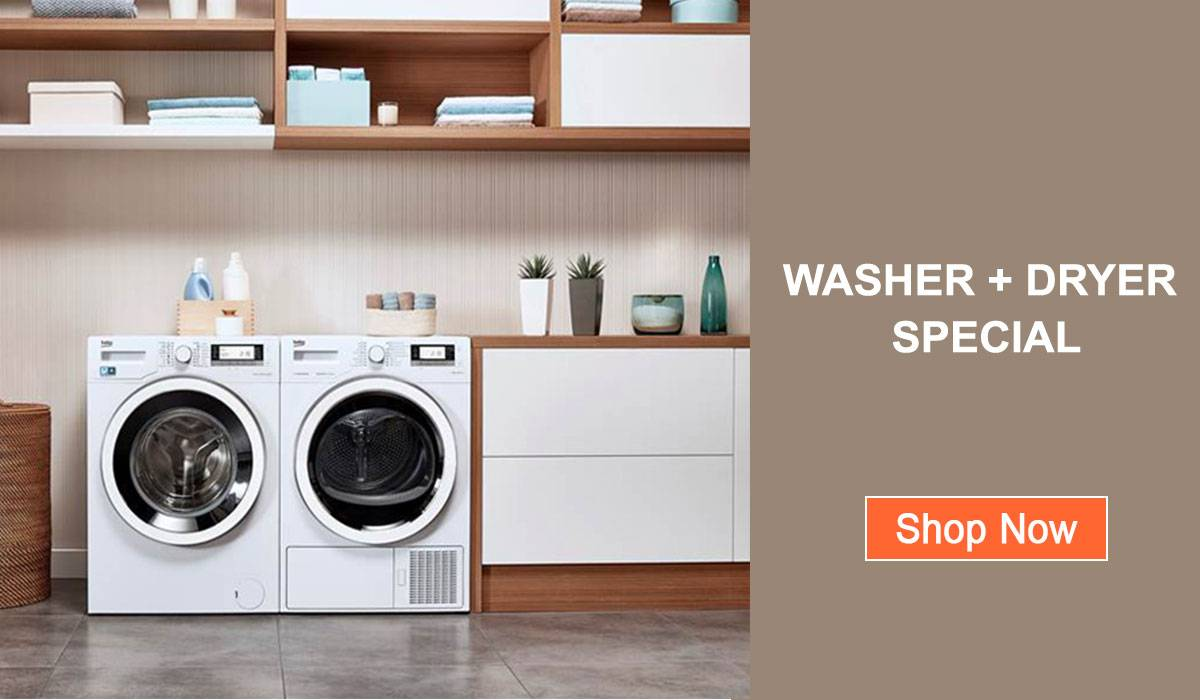 washing machine and dryer promotion