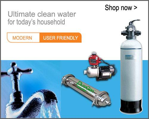 Waterco, Puregen, Water Filtration and Booster Pump