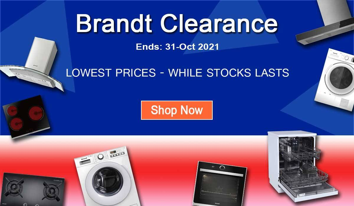 Brandt Stock Clearance