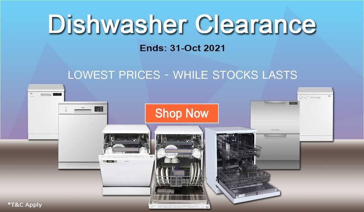 Dishwasher Clearance