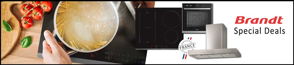 brandt appliances - cooker hood with cooktops and oven special price deals