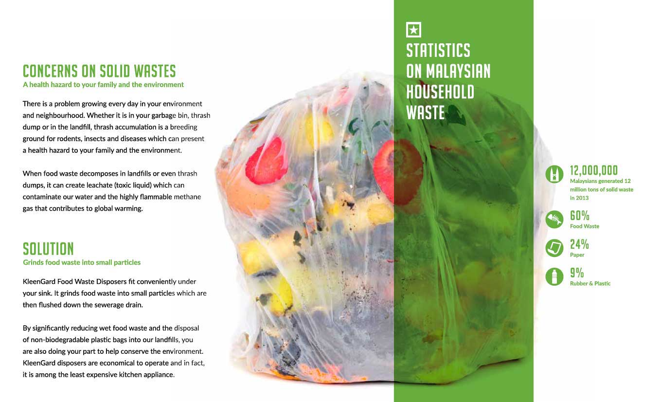 Kleengard food waste disposer - garbage solutions and benefits