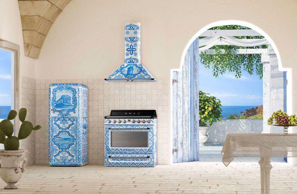Smeg Dolce&Gabbana Fridge - Divina Cucina FAB28RDGM3